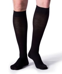 Miesten Energizing Wool -polvisukat musta