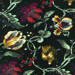 Jungle Print -sukkahousut Floral Cheetah