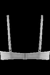 Space Odyssey balconette-rintaliivi Silver Lurex