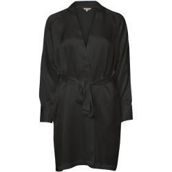 Pure silk kimono Musta