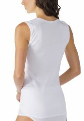 Mey 2000 sleeveless top White