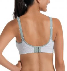 Air Control padded sports bra White