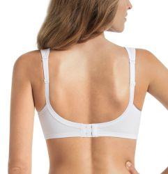 Jana Support kaaritueton rintaliivi Valkoinen