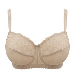 Couture kaaritueton rintaliivi Cream