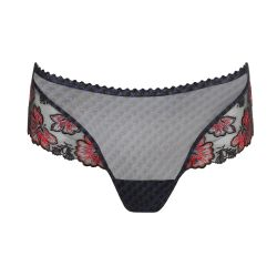 Wild Flower luxury thong Midnight Blue