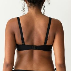 COCKTAIL topattu balconette -bikiniliivi Musta