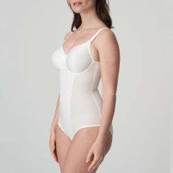 SATIN kaarituellinen body Natural