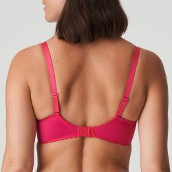DELIGHT padded heart shape bra Raspberry
