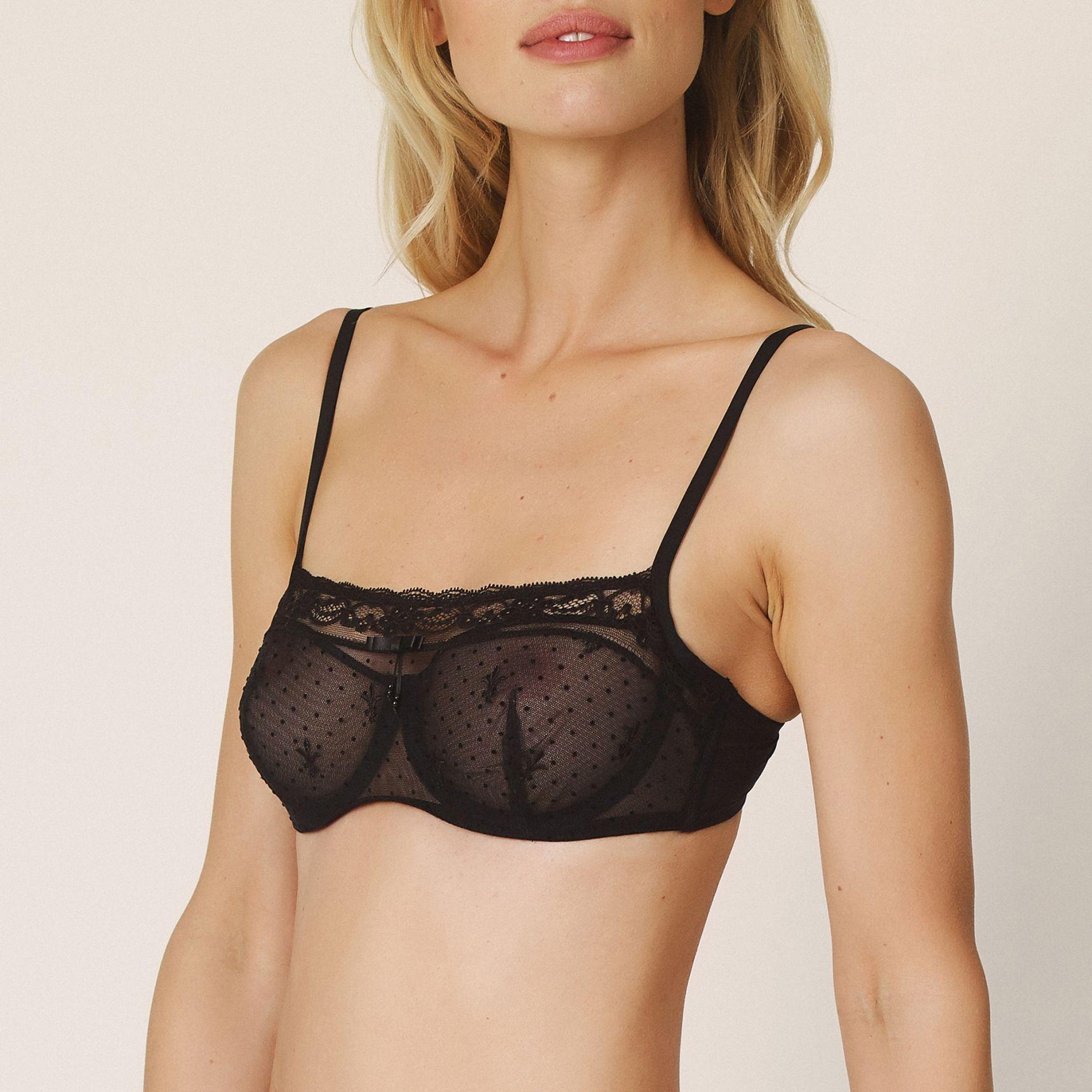 Eirin balconette-rintaliivi pystysaumalla