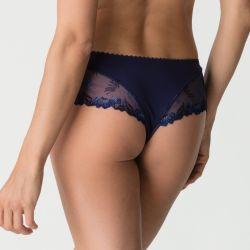 Plume luxury thong Bleu Bijou
