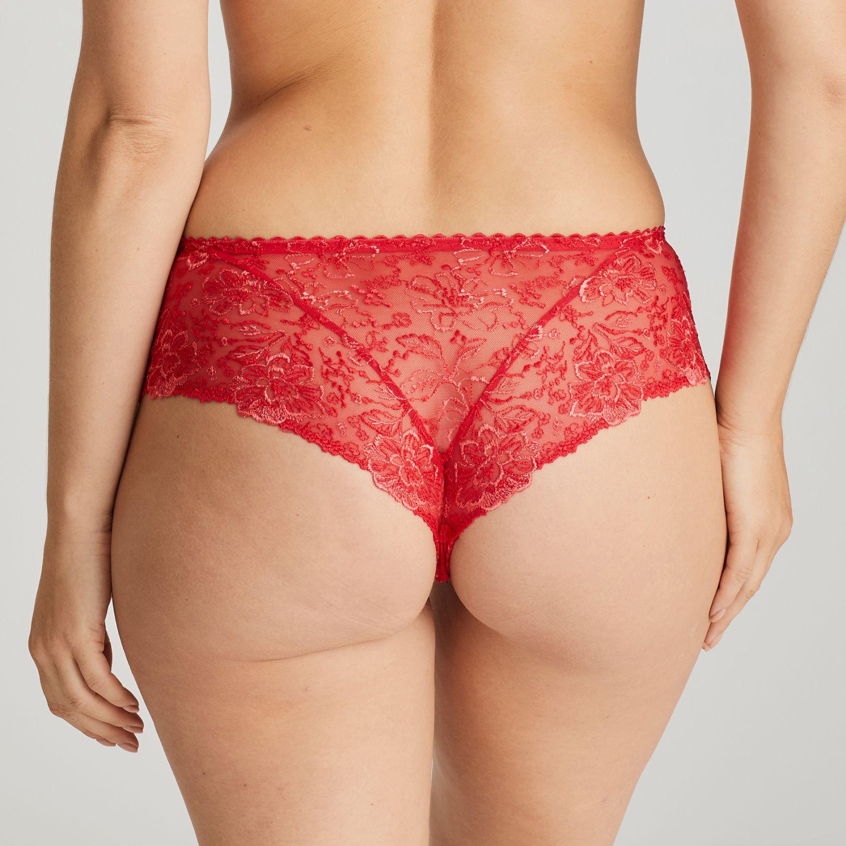 Alara luxury string-housu Scarlet