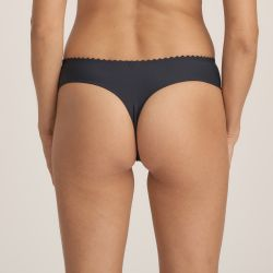 Wild Flower thong Midnight Blue