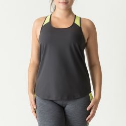 The Work Out top Cosmic Grey